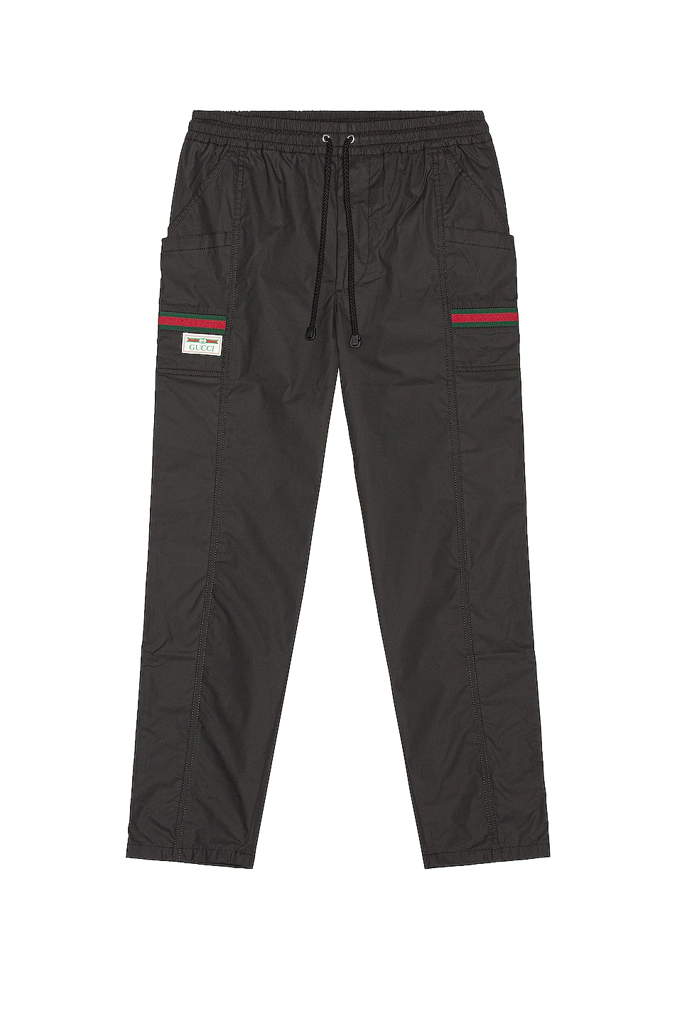 Image 1 of Gucci Track Pants in Black & Mix