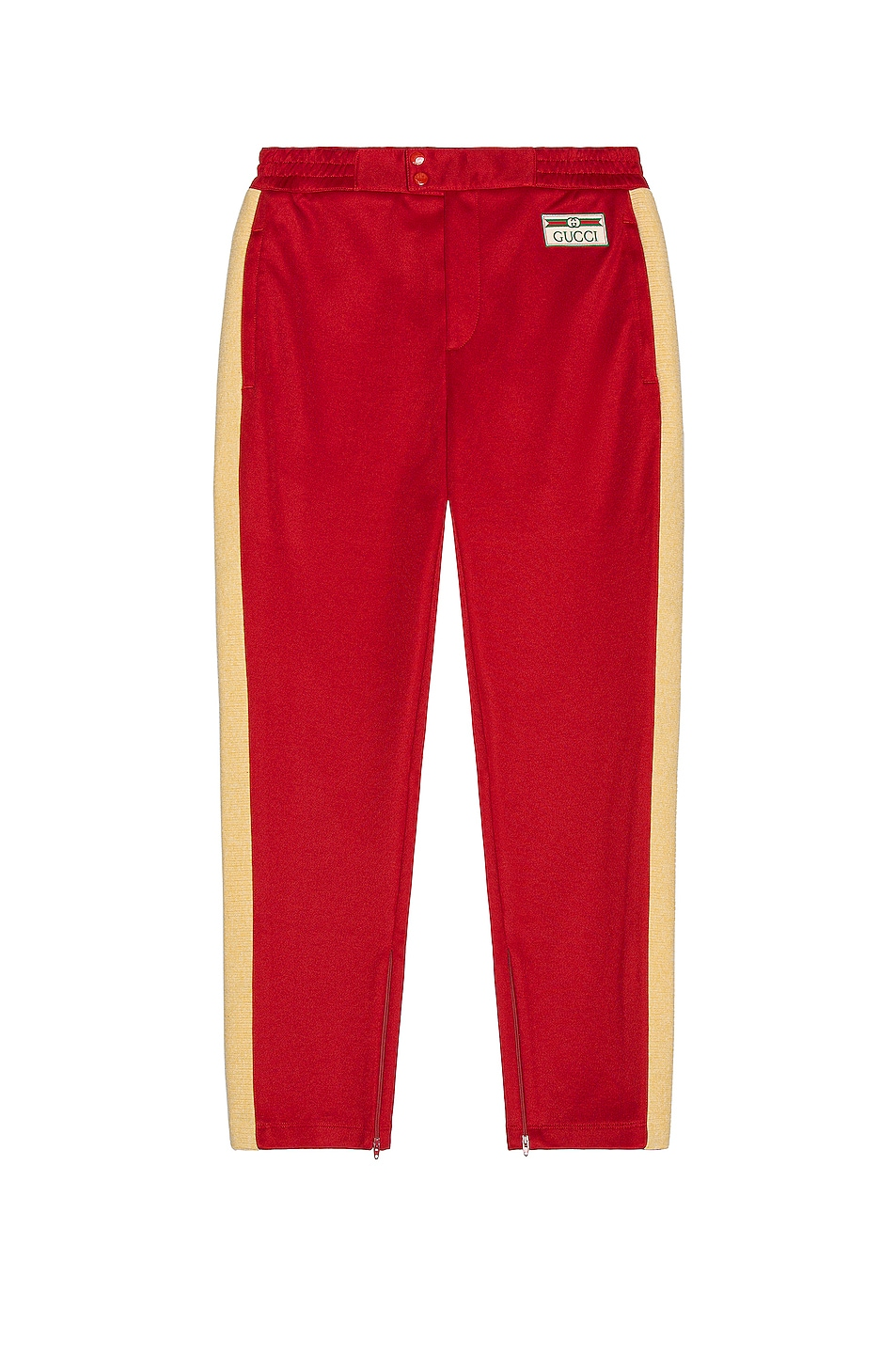 Image 1 of Gucci Sweatpants in Live Red & Multicolor