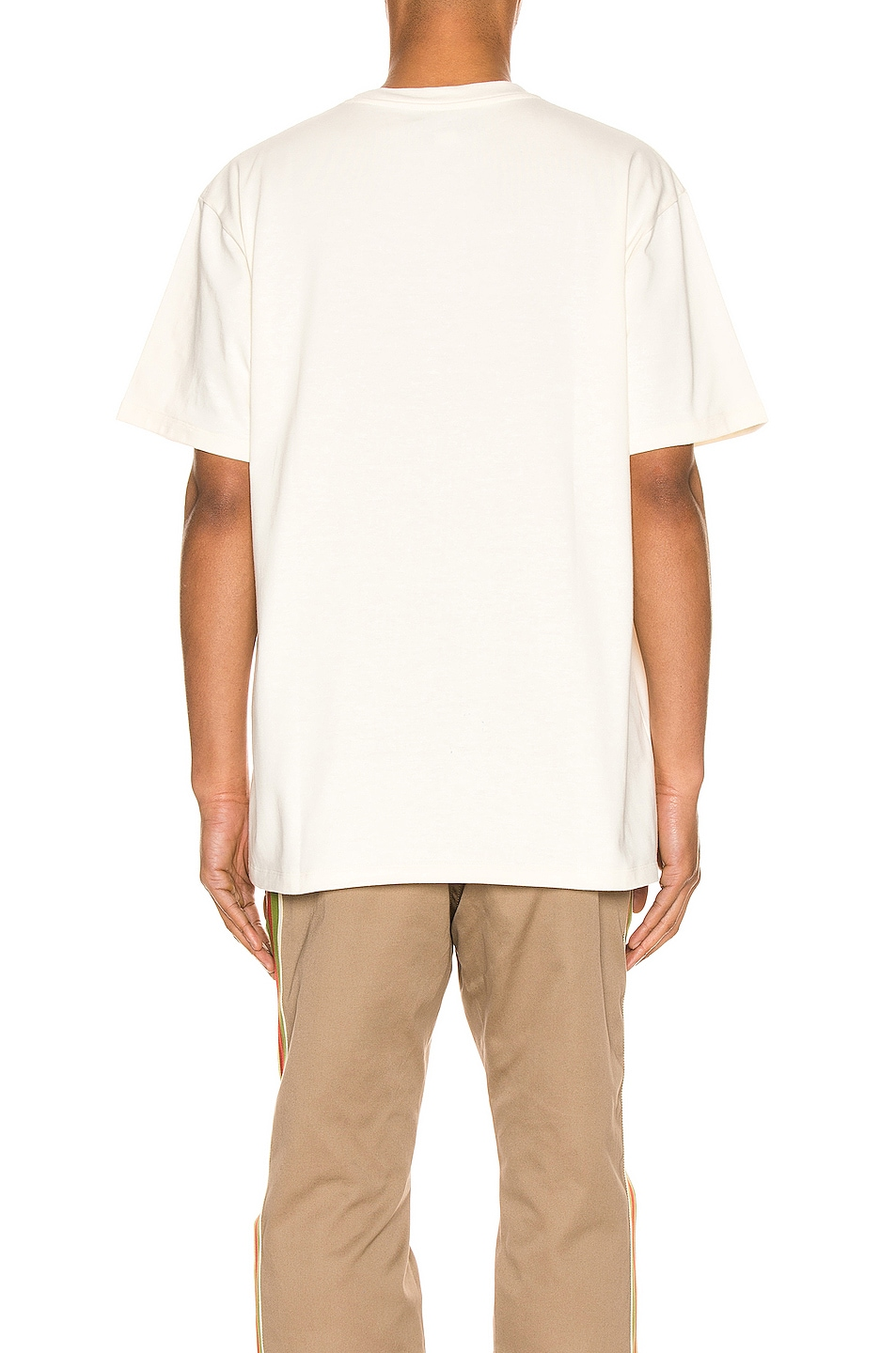 Image 3 of Gucci Band Oversize Print Tee in Sunkissed & MC