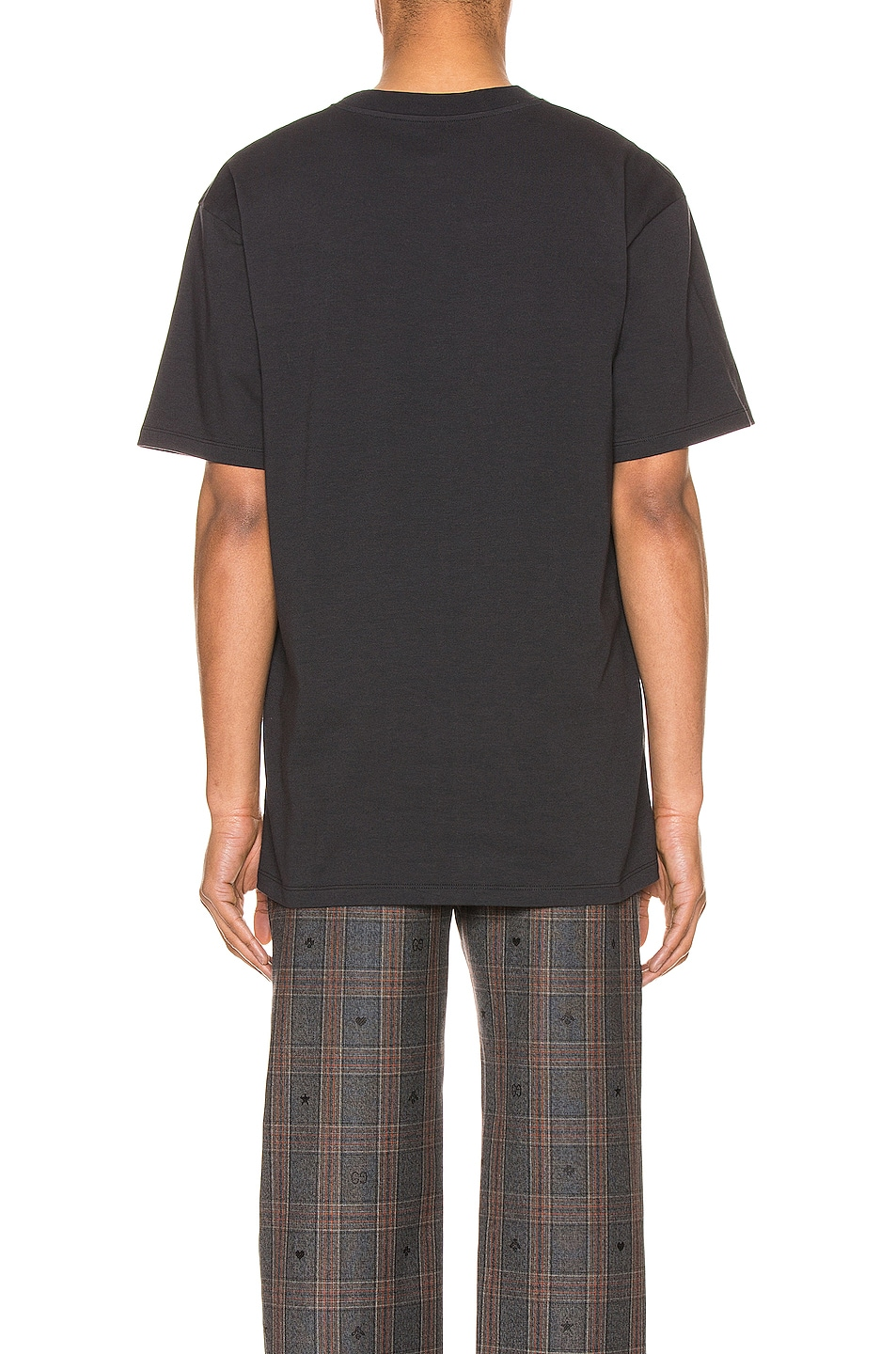 Image 3 of Gucci Band Print Oversize Tee in Medley & MC