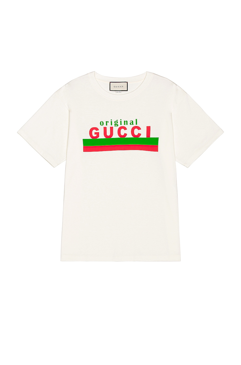 Image 1 of Gucci Logo Tee in Sunlight & MC