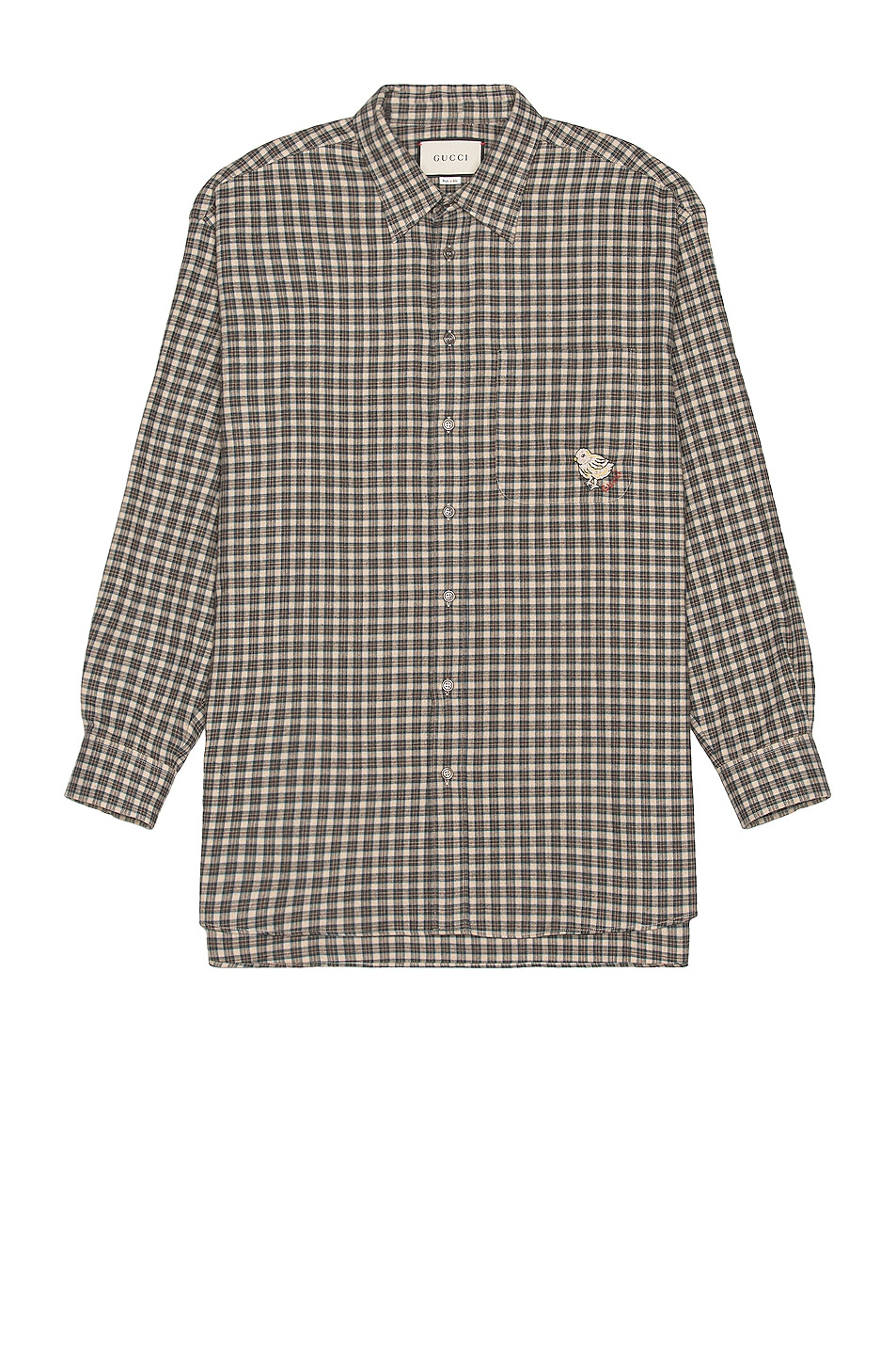 Image 1 of Gucci Long Sleeve Button Down in Pps & Mix