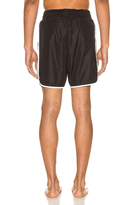 Image 4 of Gucci Nylon Swim Shorts With Ribbon in Black & Multi
