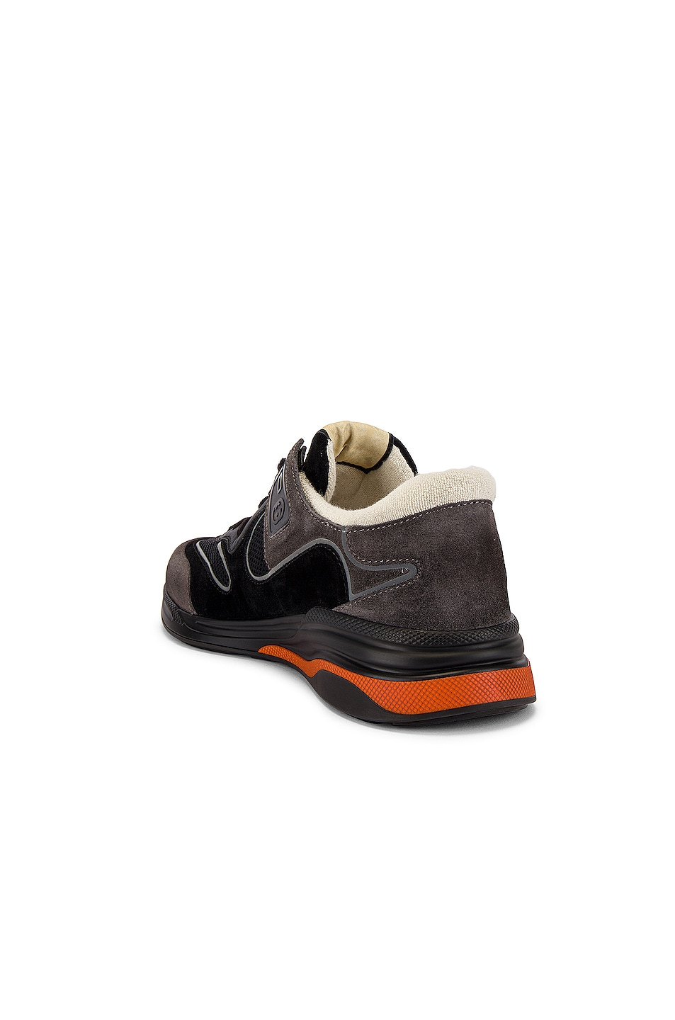 Image 3 of Gucci G Line Low Top Sneaker in Black & Silver