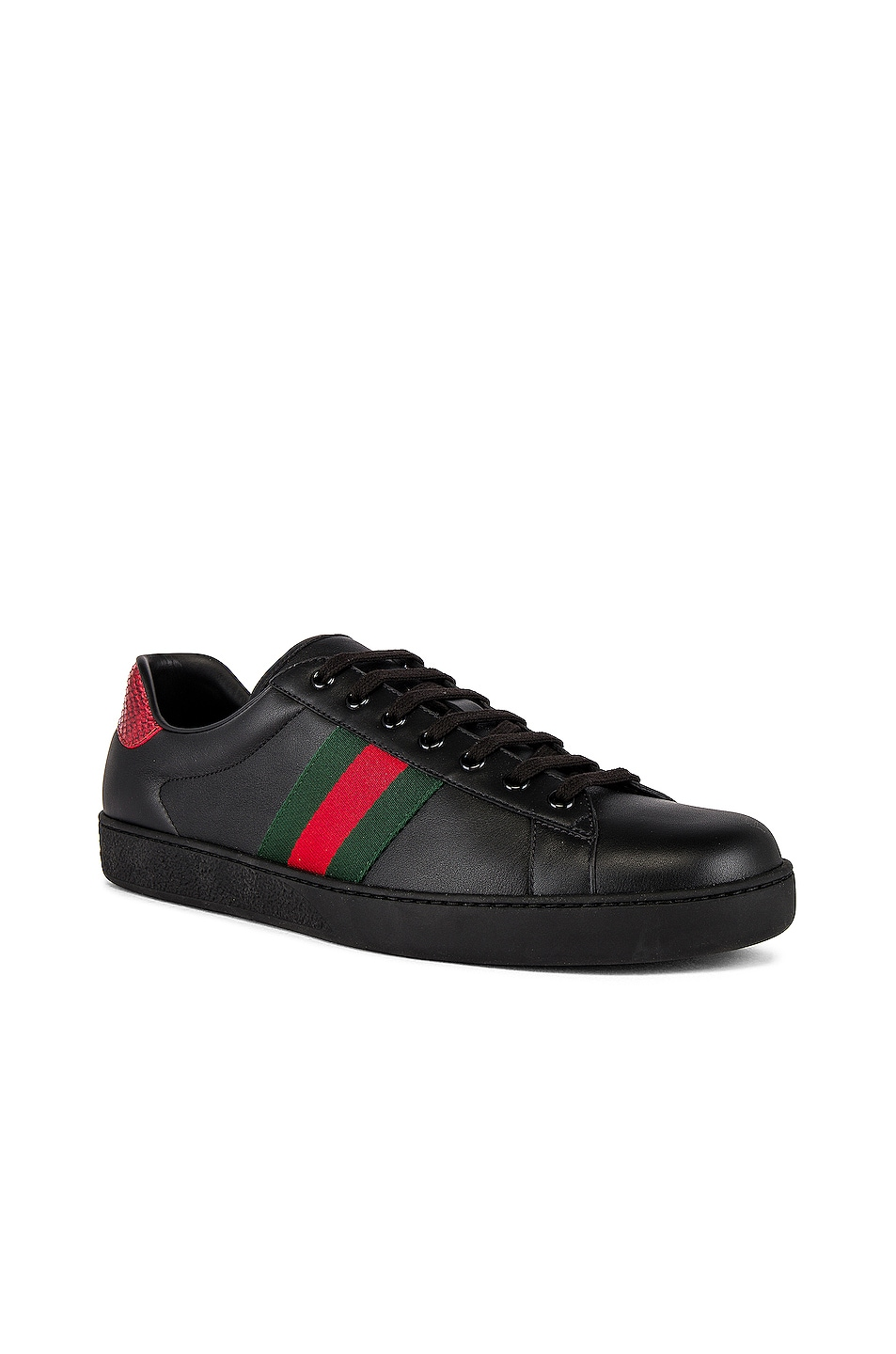 Image 1 of Gucci New Ace Sneaker in Black