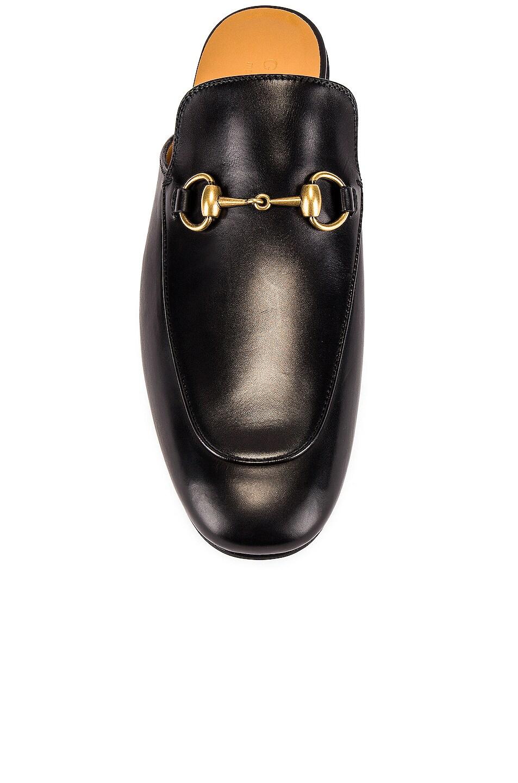 Image 4 of Gucci Kings Mule in Black