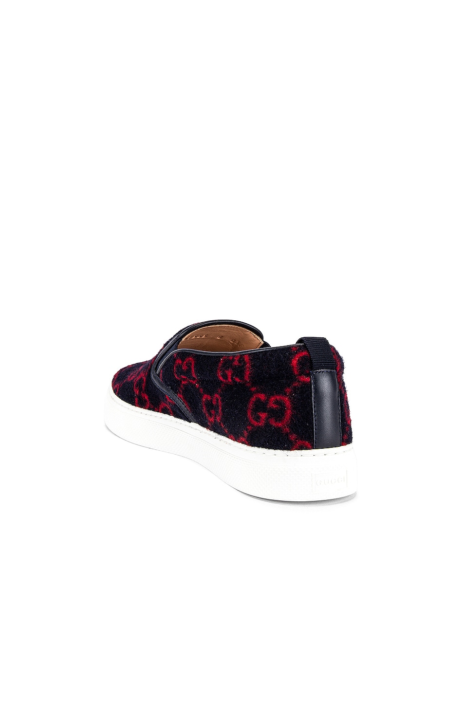 Image 3 of Gucci Dublin Slip On in Blue & Red
