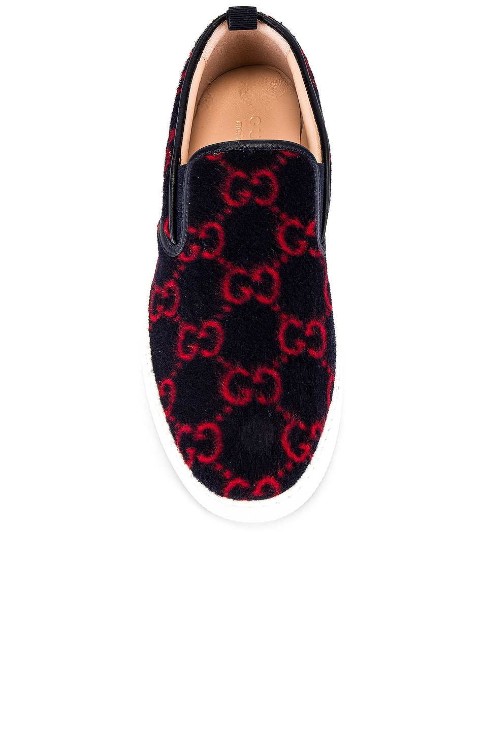 Image 4 of Gucci Dublin Slip On in Blue & Red