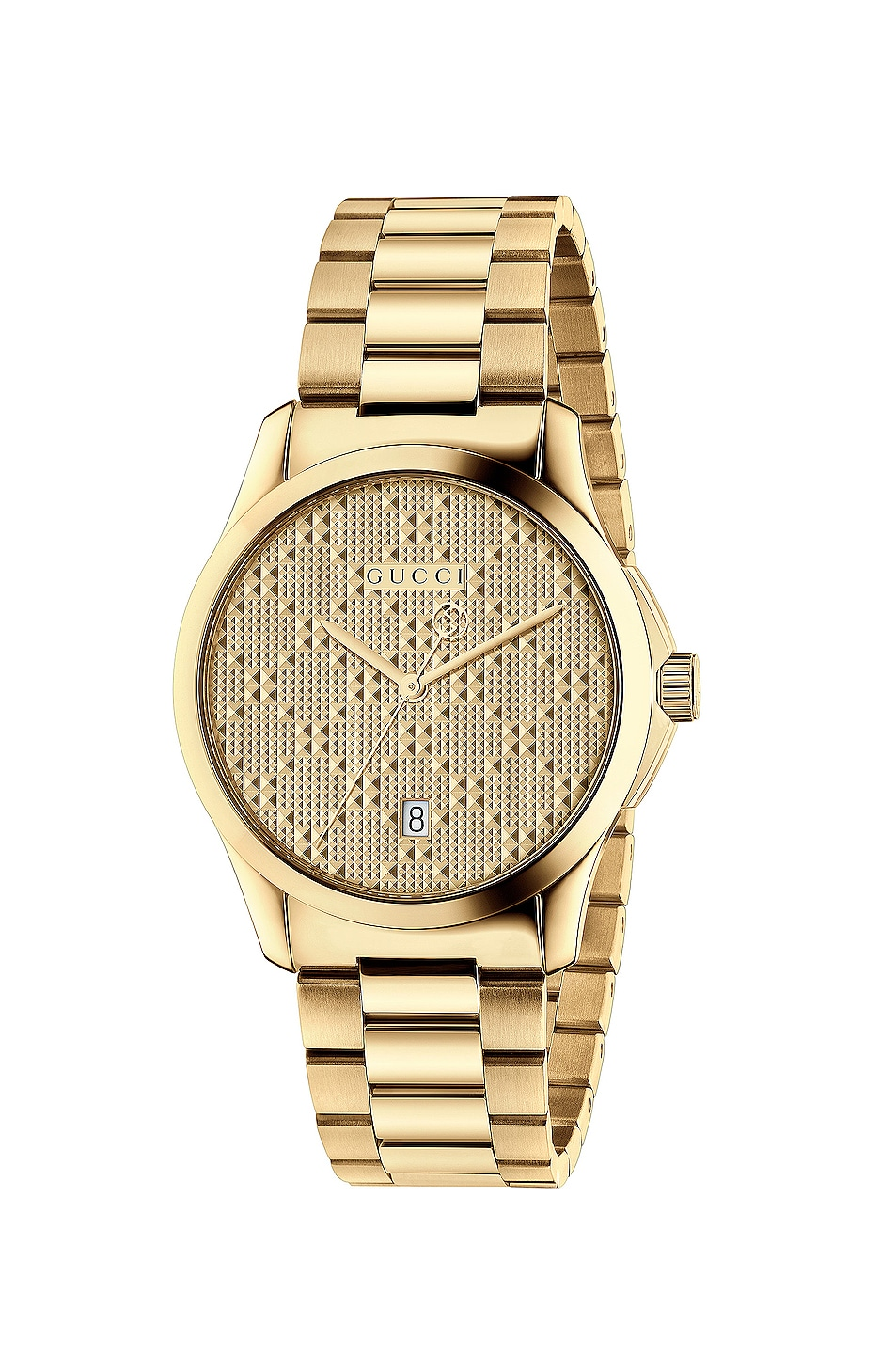 Image 1 of Gucci 38MM G-Timeless Bracelet Watch in Yellow Gold