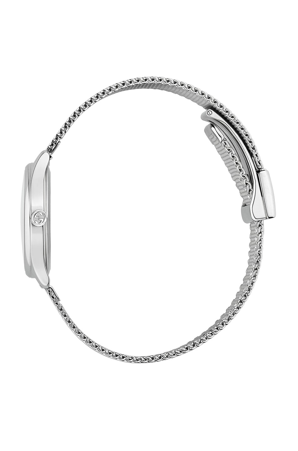Image 3 of Gucci 38MM G-Timeless Holographic Watch in White & Black
