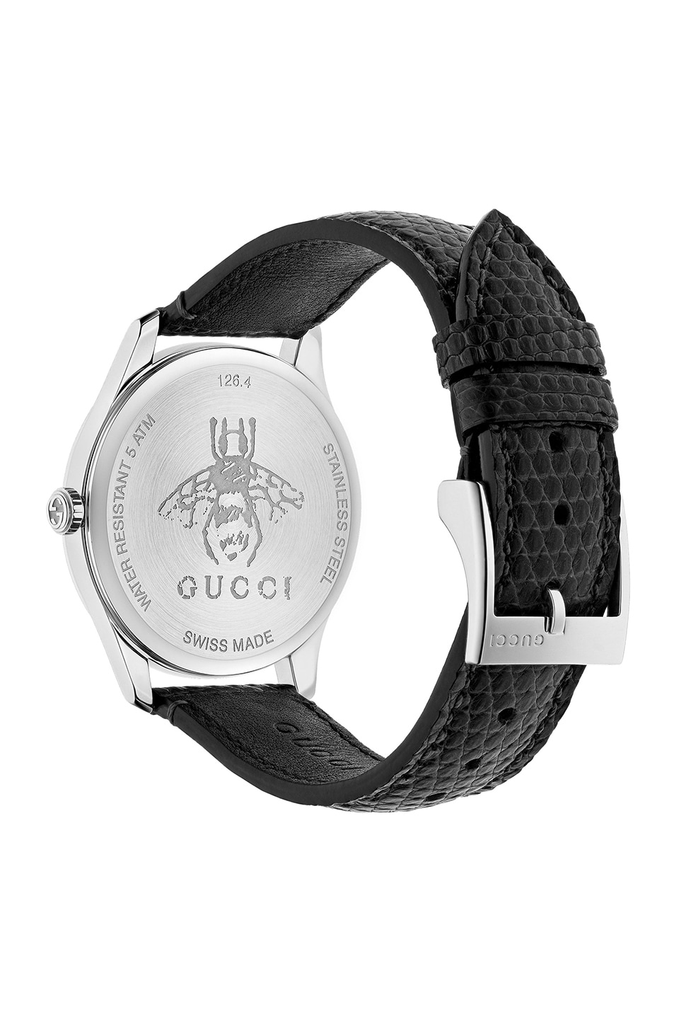 Image 2 of Gucci 36MM G-Timeless Moonphase Watch in Black