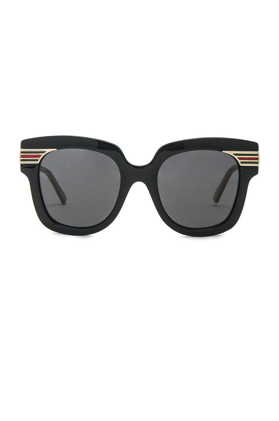 d4a6ba25a79 Image 1 of Gucci Vintage Web Sunglasses in Gold