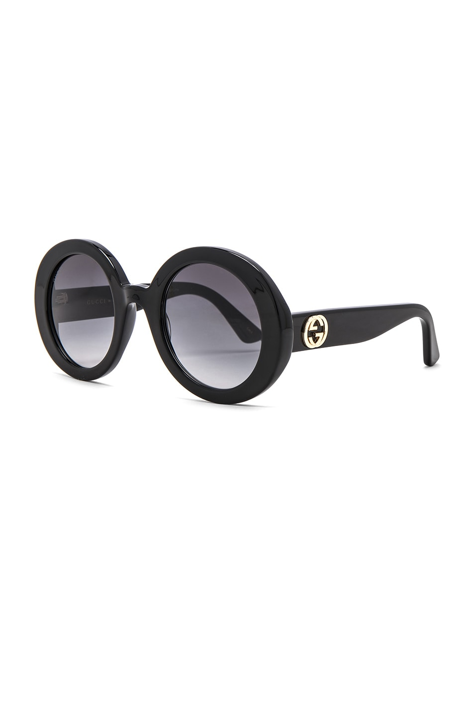 Image 2 of Gucci GG Acetate Sunglasses in Black