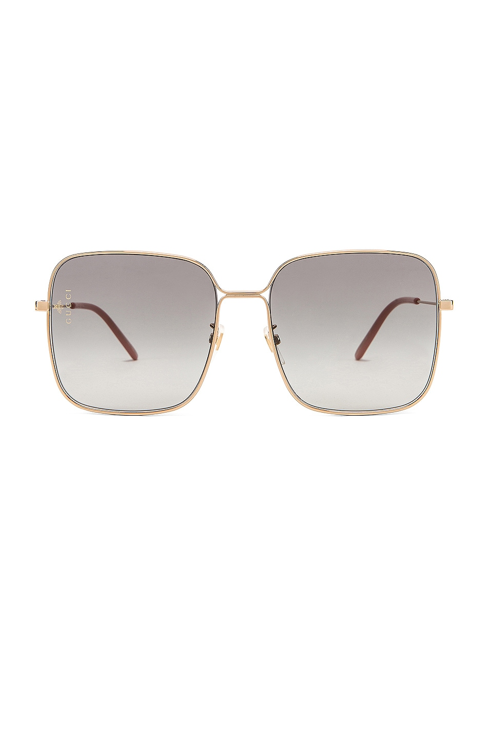 Image 1 of Gucci Square Sunglasses in Grey