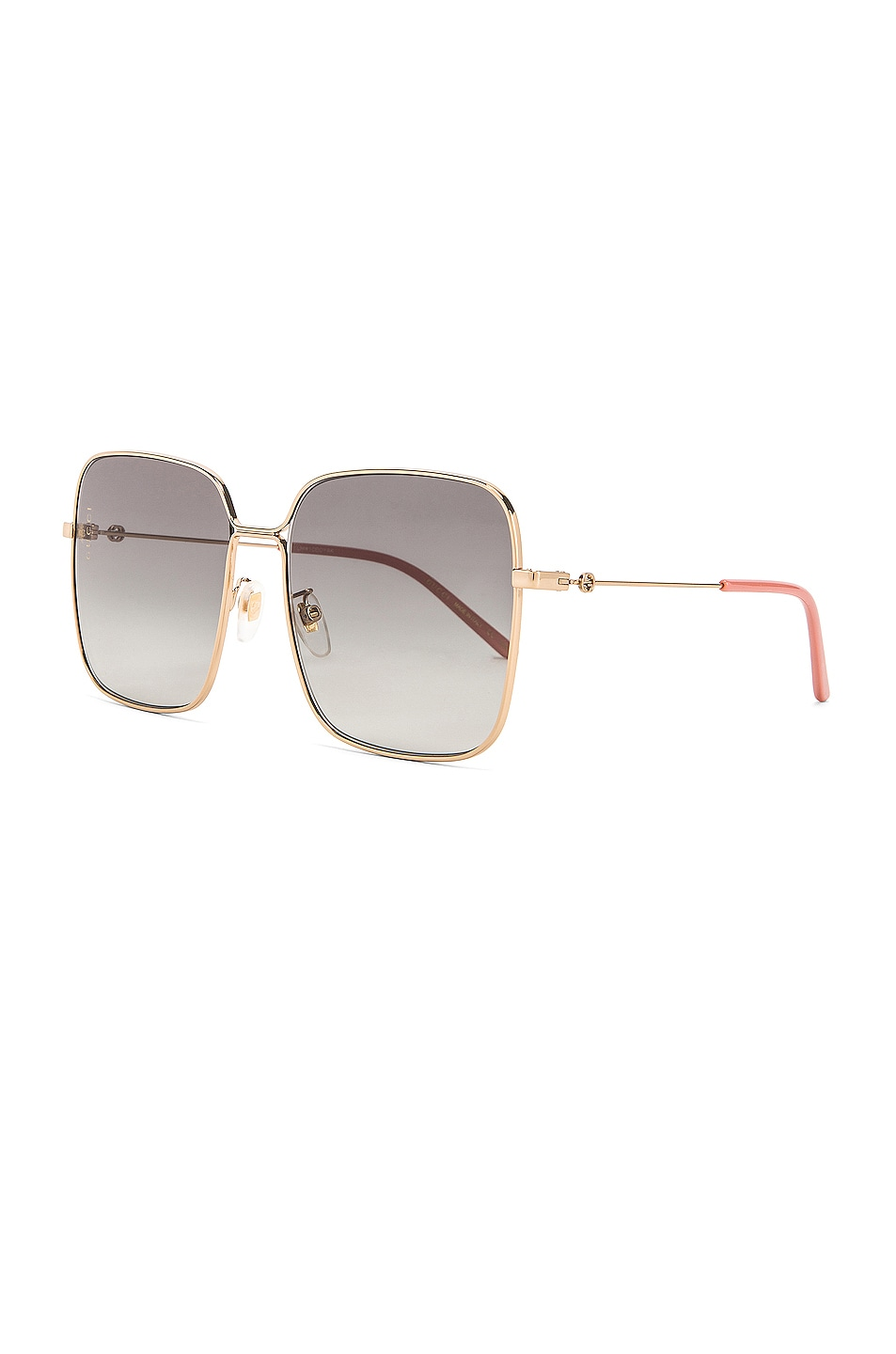 Image 2 of Gucci Square Sunglasses in Grey