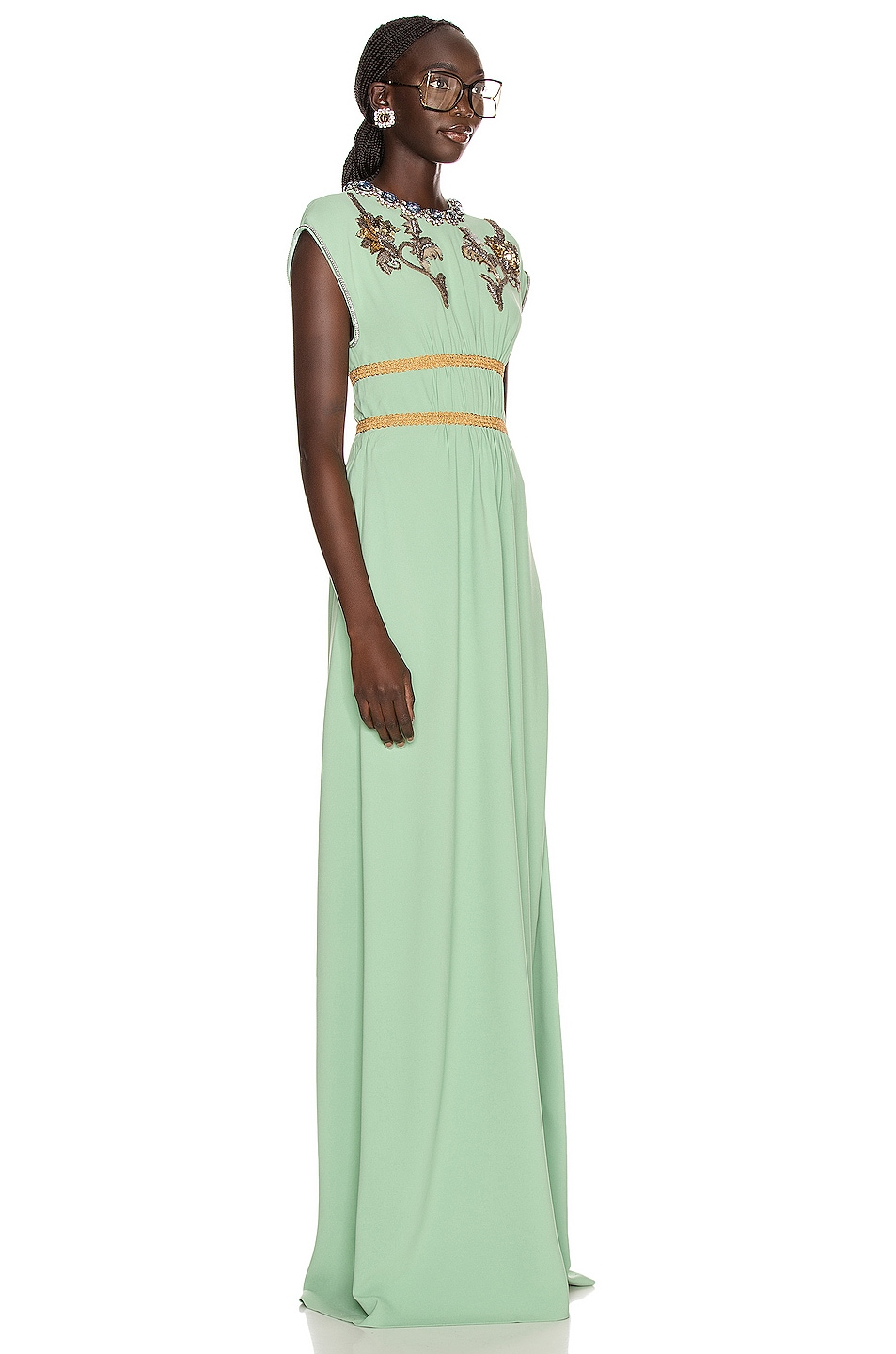 Image 2 of Gucci Evening Gown in Mint Cream