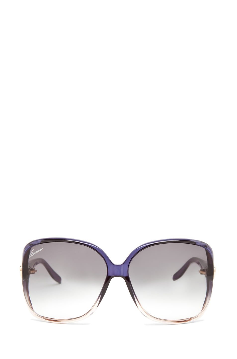 Image 1 of Gucci 3500 Sunglasses in Shiny Blue