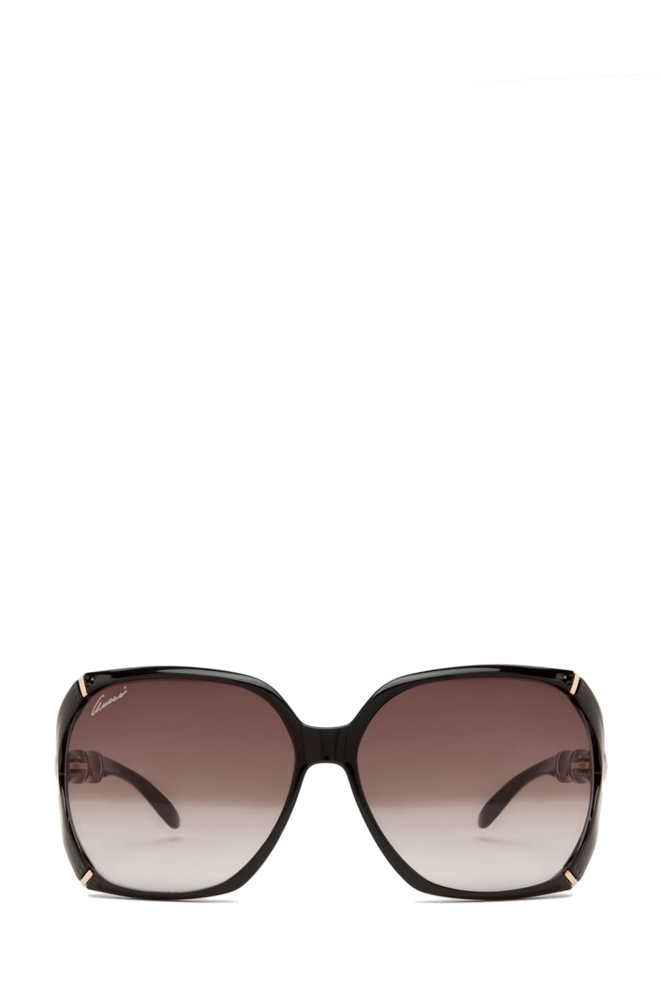 Image 1 of Gucci 3508 Sunglasses in Shiny Black