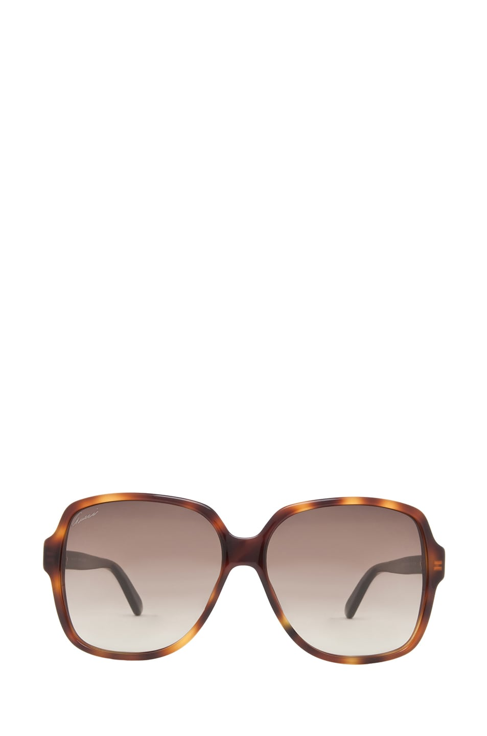 Image 1 of Gucci 3582 Sunglasses in Havana & Brown Gradient