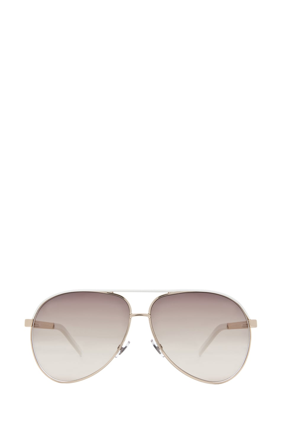 9a5f70a7345d Image 1 of Gucci 1827 Sunglasses in Gold & Brown Gray Gradient