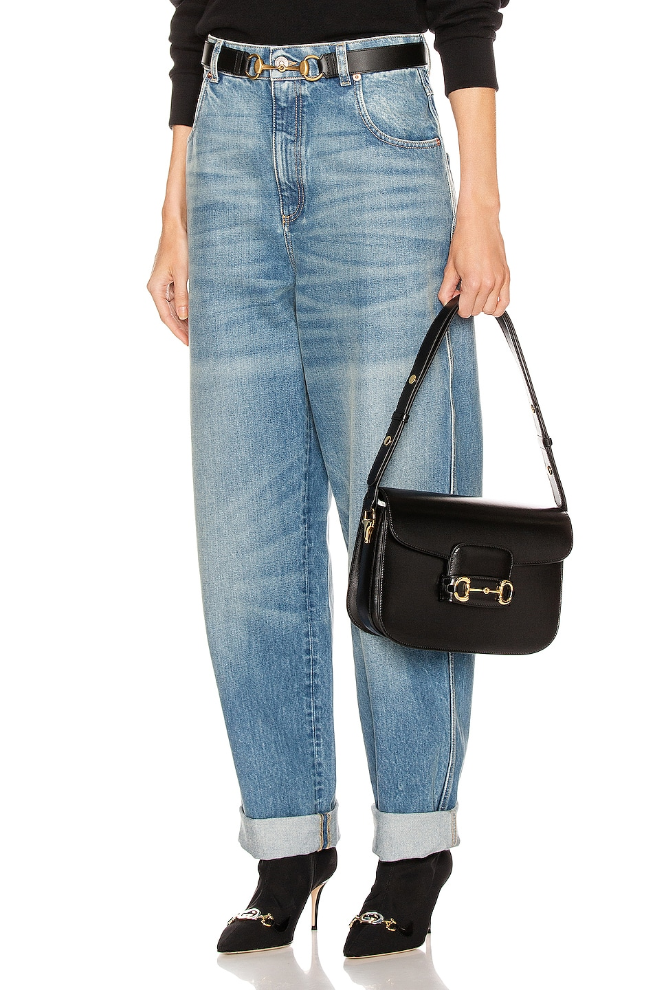 Image 1 of Gucci Loose Jean in Blue