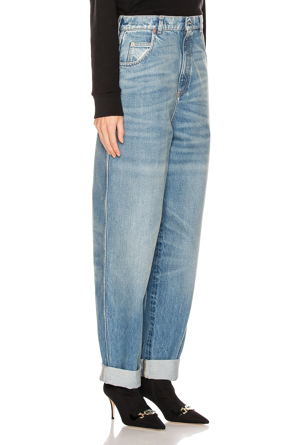 Image 2 of Gucci Loose Jean in Blue