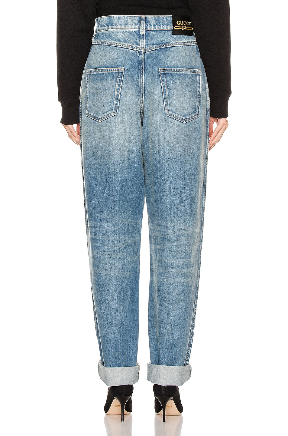 Image 3 of Gucci Loose Jean in Blue