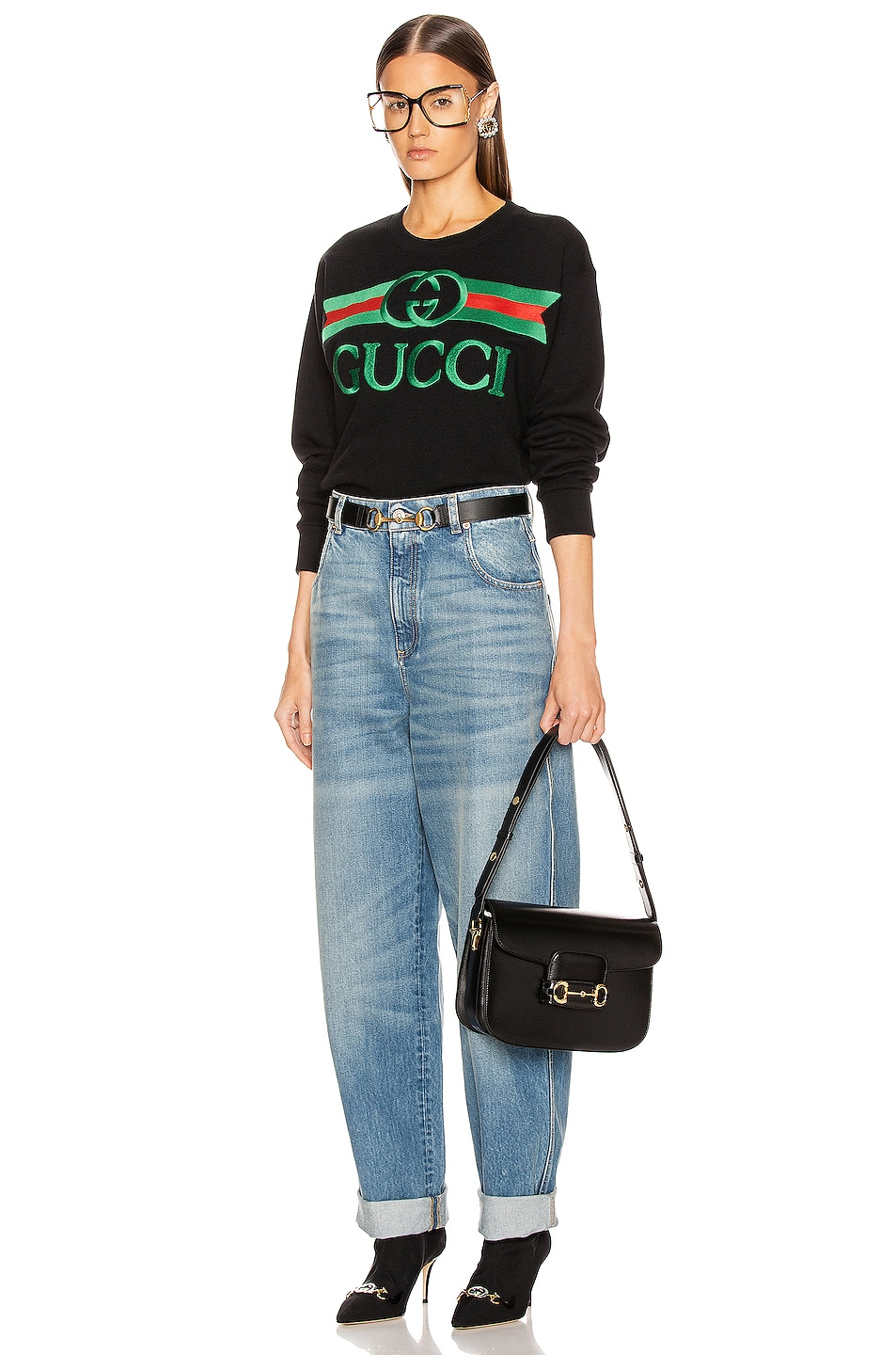 Image 4 of Gucci Loose Jean in Blue