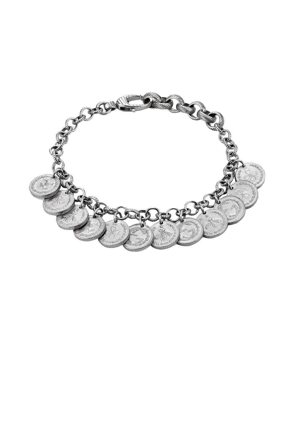 f9cea84a5fe Image 1 of Gucci Coin Bracelet in Sterling Silver