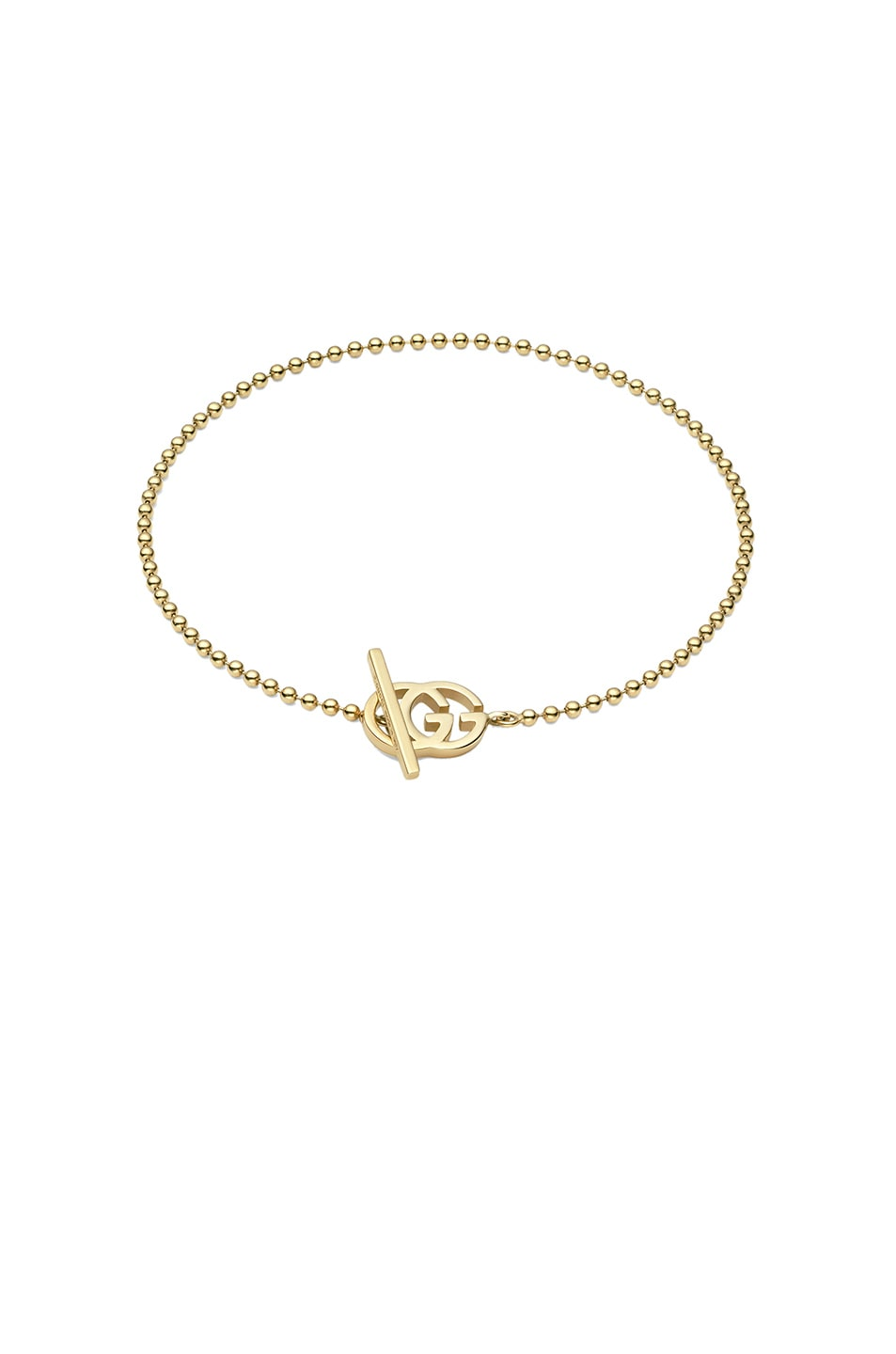 b121848fd Image 1 of Gucci Running G Bracelet in 18KT Yellow Gold