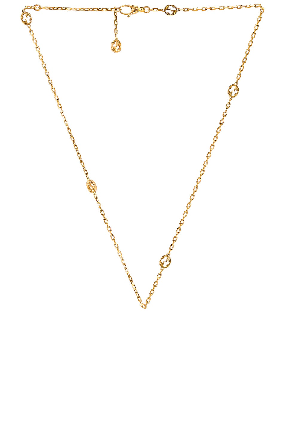 Image 1 of Gucci Interlocking G Necklace in Gold