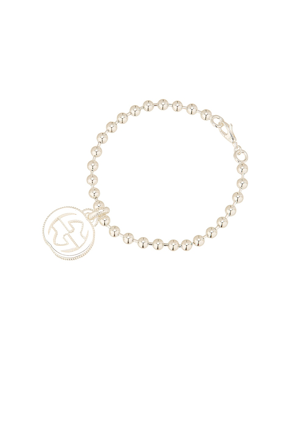 Image 1 of Gucci Interlocking G Motif Bracelet in Sterling Silver