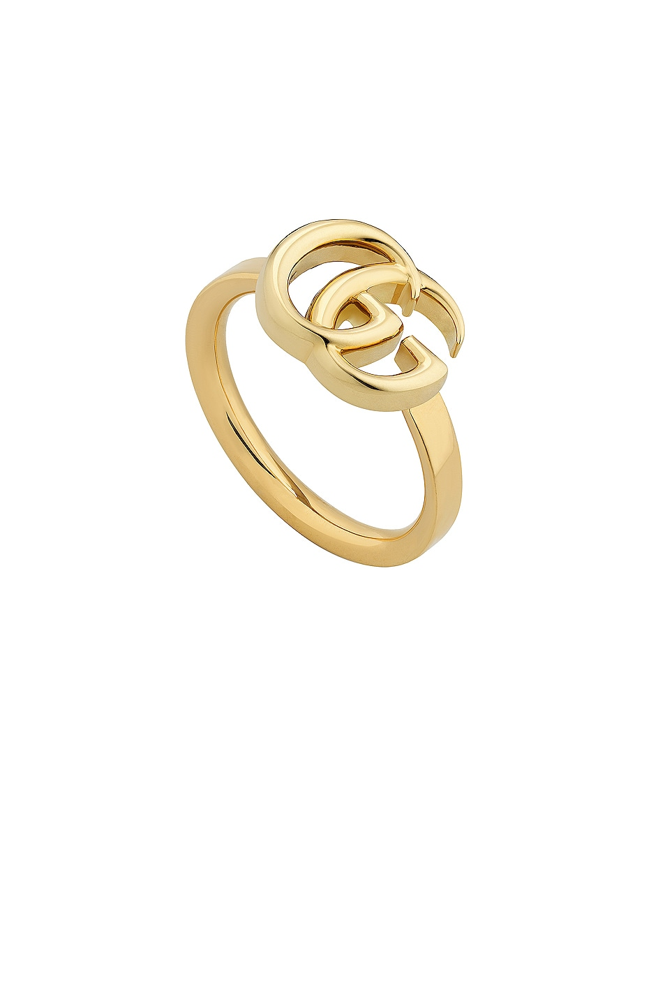Image 1 of Gucci Running G Ring in Yellow Gold