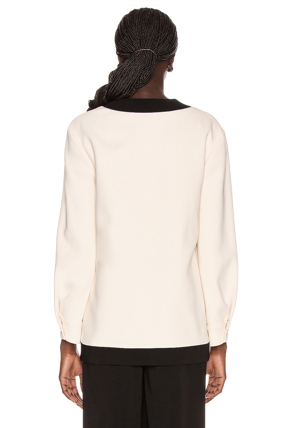Image 3 of Gucci Long Sleeve Jacket in Ninfea White