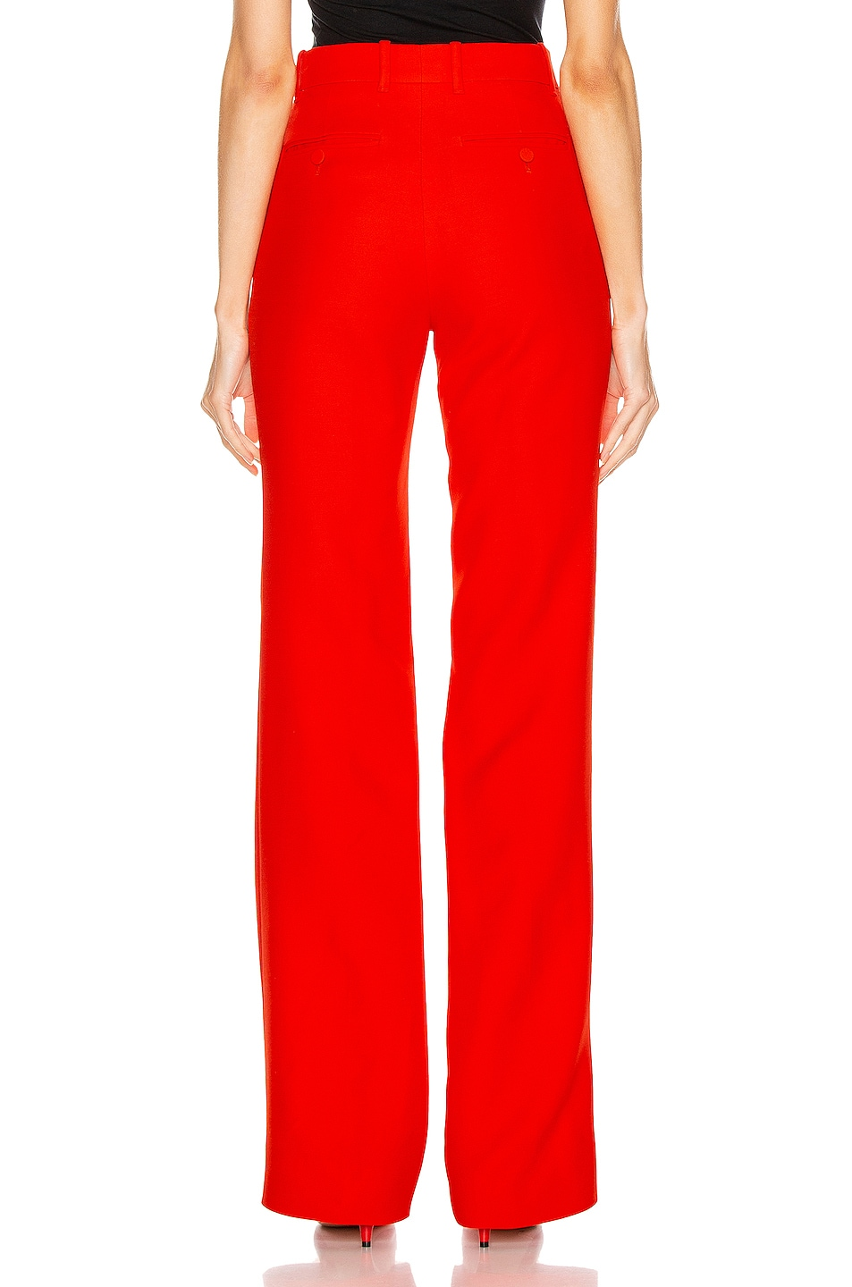 Image 3 of Gucci Flare Pant in Pomegrante Flower