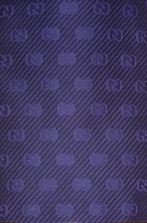 Image 5 of Gucci GG Diagonal Mini Skirt in Royal Bluette