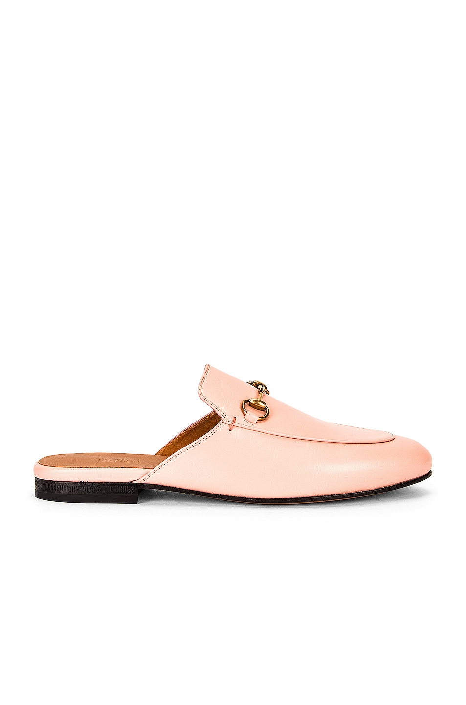 Image 1 of Gucci Princetown Slides in Pink