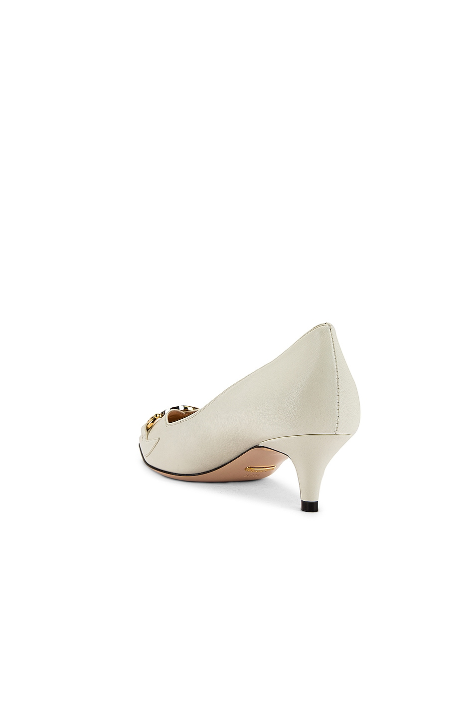 Image 4 of Gucci Low Heel Pumps in Dusty White