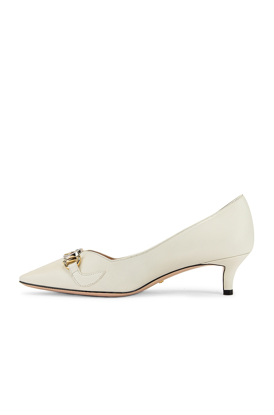 Image 5 of Gucci Low Heel Pumps in Dusty White