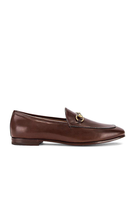 Image 1 of Gucci Jordaan Loafers in Fondente