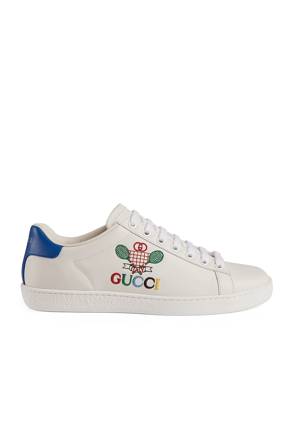 Image 1 of Gucci New Ace Tennis Sneakers in White