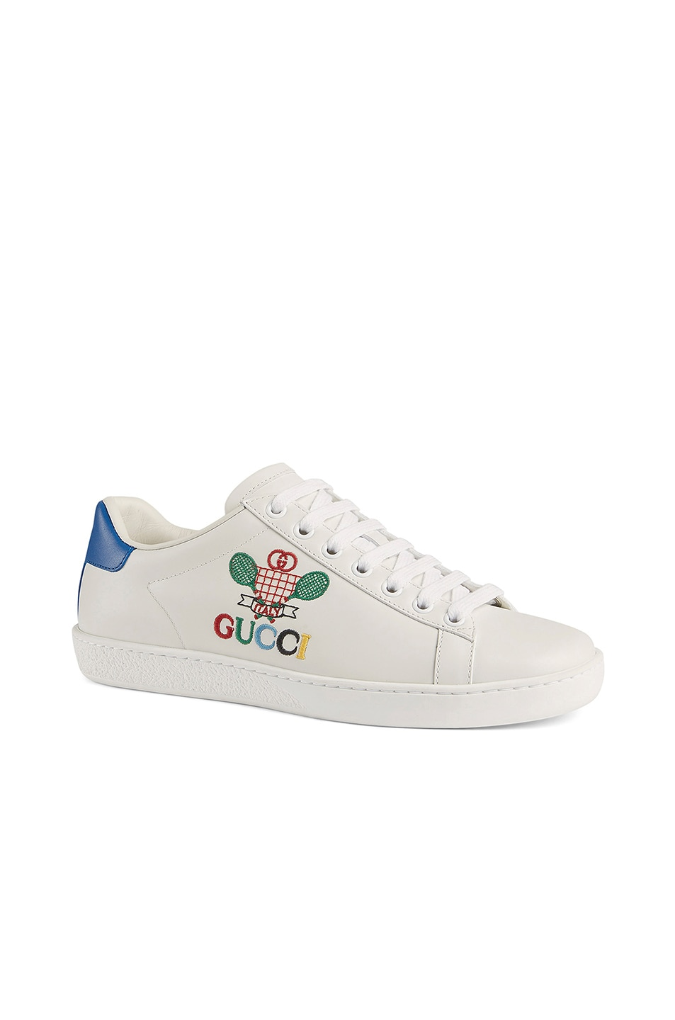 Image 2 of Gucci New Ace Tennis Sneakers in White