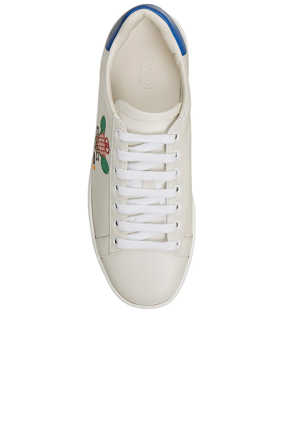 Image 3 of Gucci New Ace Tennis Sneakers in White