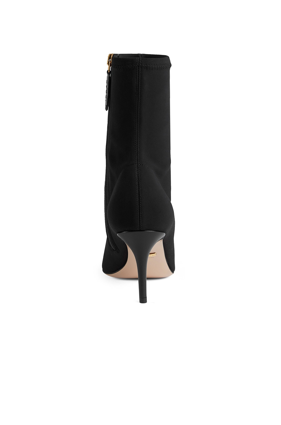 Image 3 of Gucci Mid Heel Ankle Booties in Black