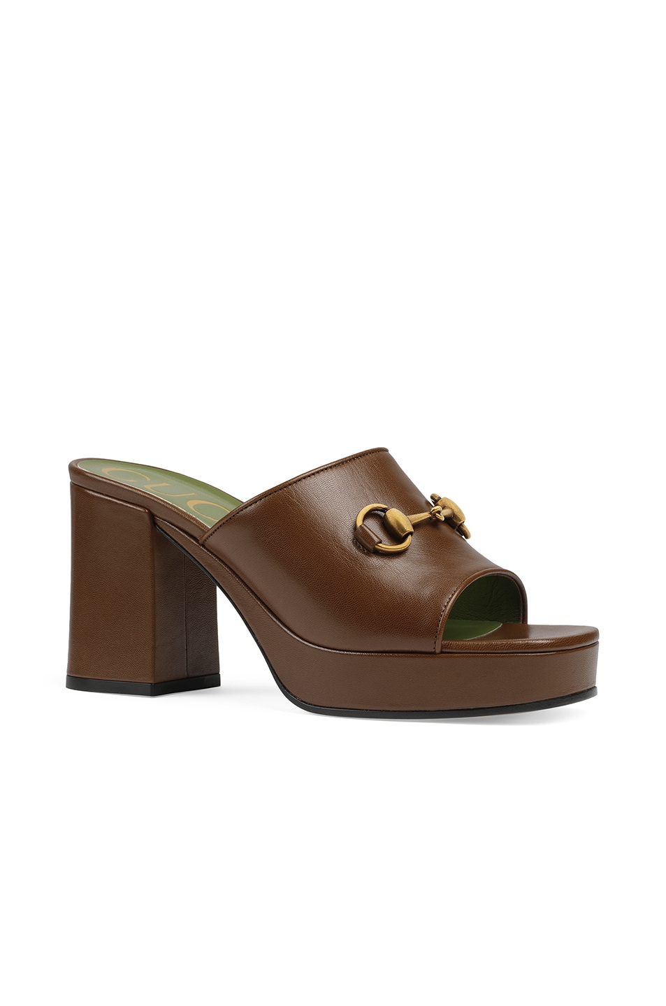Image 2 of Gucci Houdan Sandals in Brown