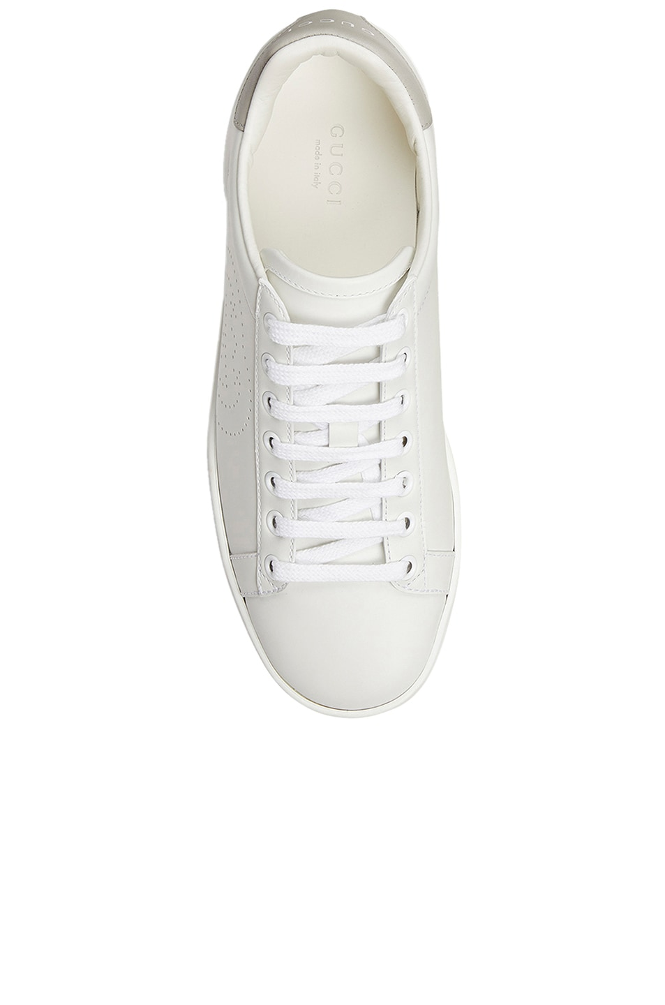 Image 4 of Gucci New Ace Sneakers in White