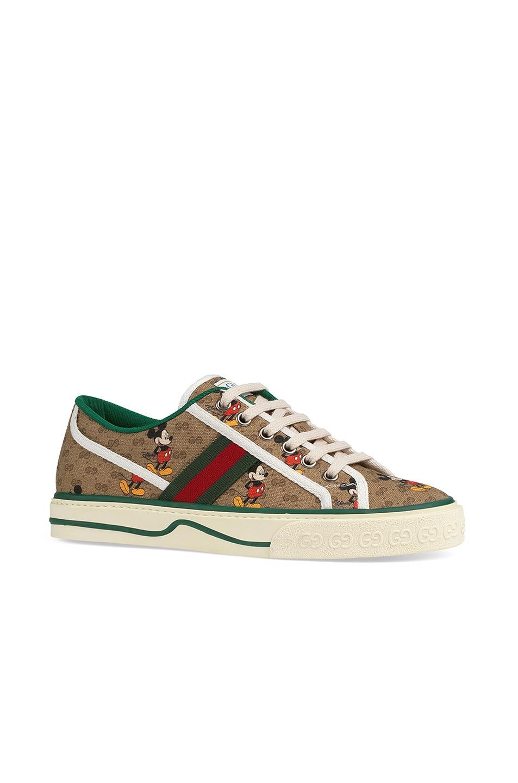 Image 2 of Gucci Tennis 1977 Sneakers in Beige Ebony