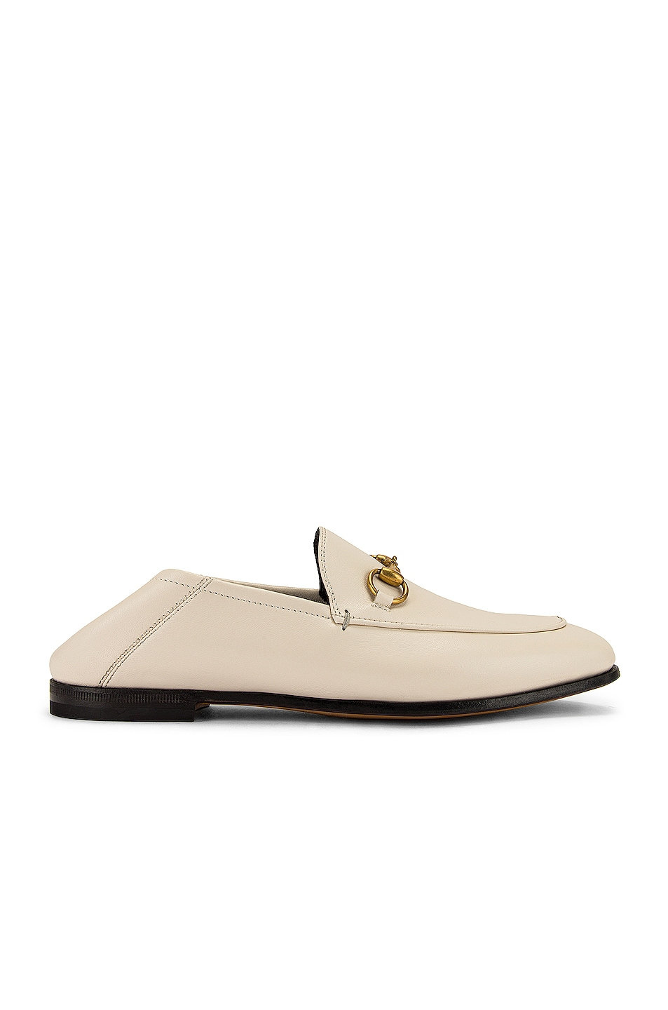 Image 1 of Gucci Brixton Loafers in Mystic White