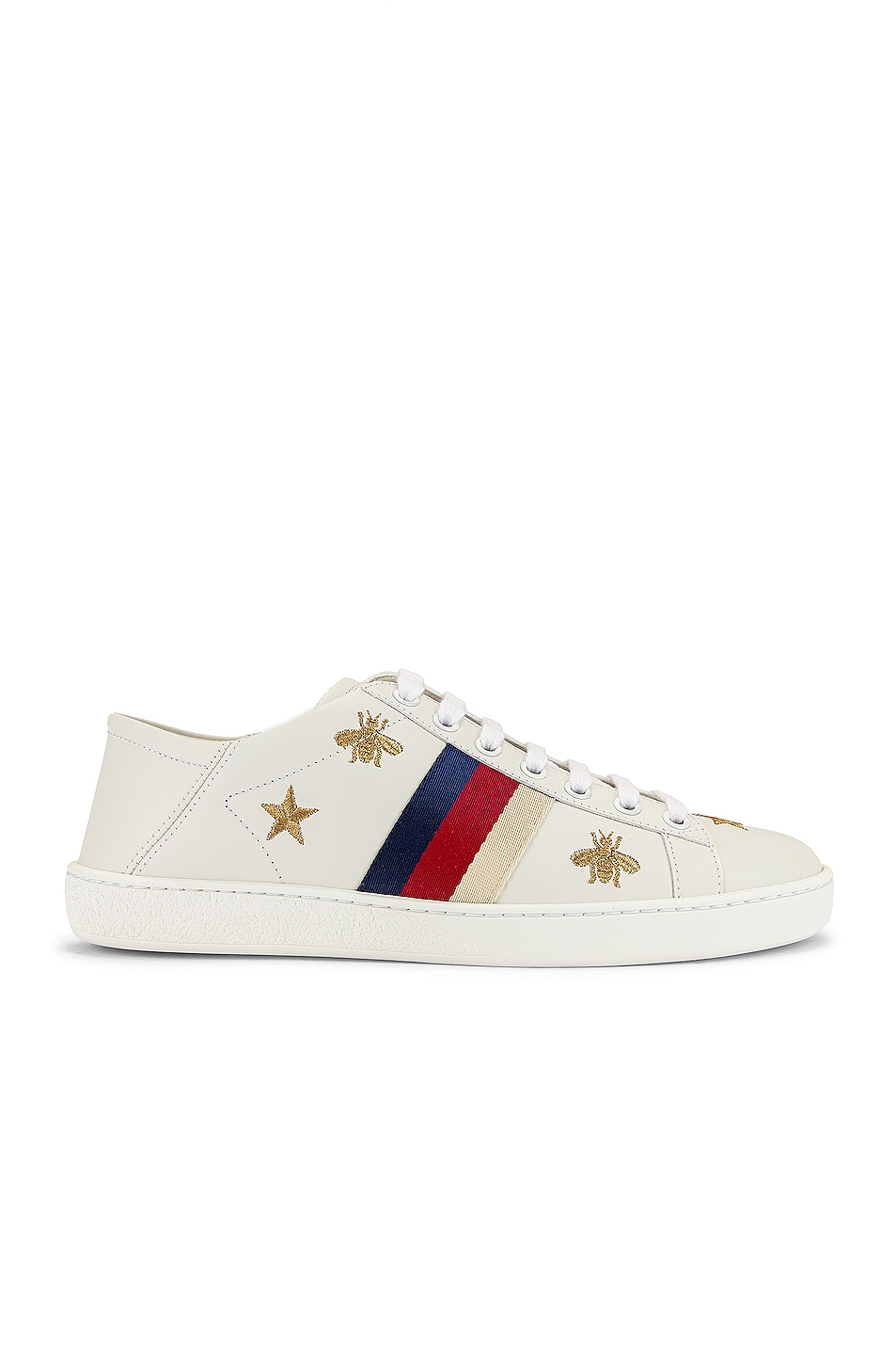 Image 1 of Gucci New Ace Sneakers in White