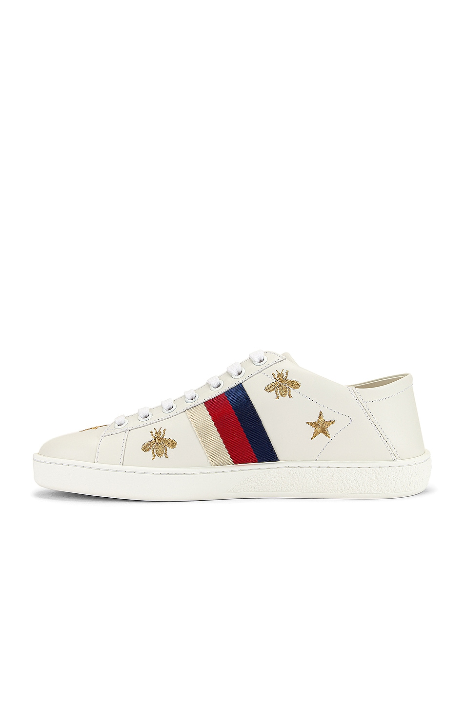 Image 5 of Gucci New Ace Sneakers in White